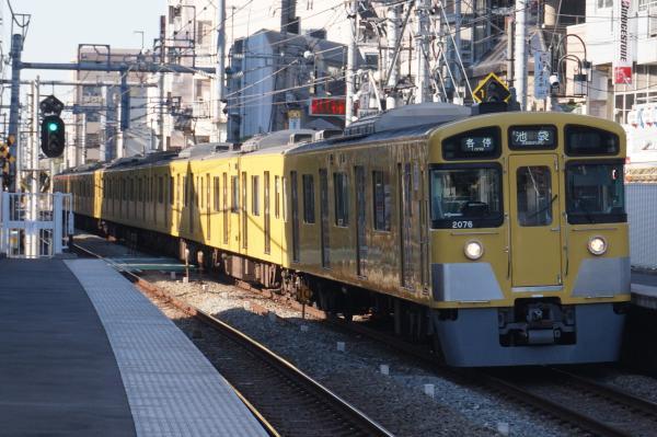 2015-12-26 西武2075F 各停池袋行き 5104レ