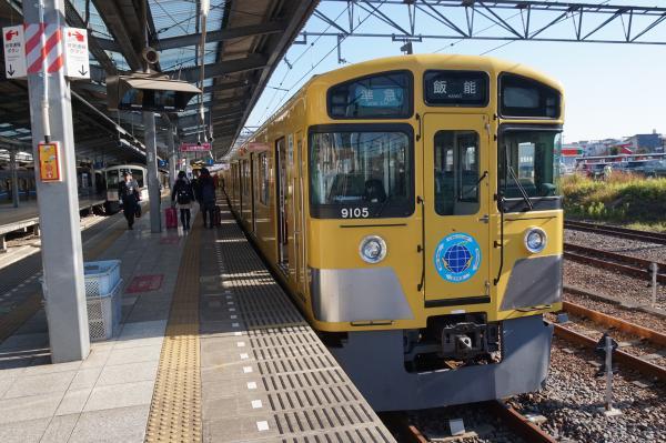 2015-12-26 西武9105F 準急飯能行き2 4129レ