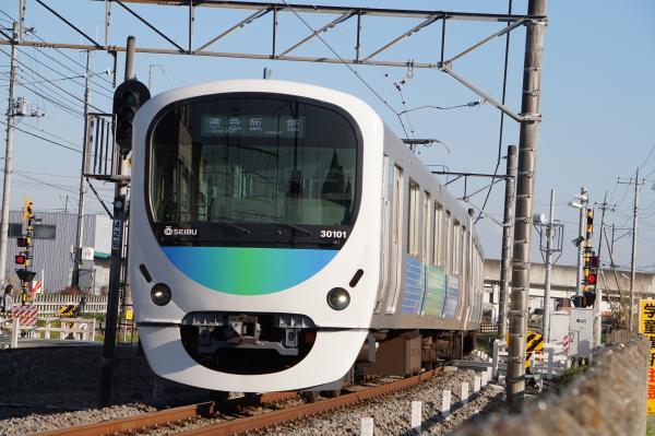 2015-12-26 西武30101F 準急飯能行き 4131レ
