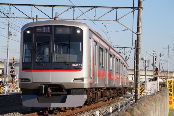 2015-12-26 東急4101F 快急飯能行き 1713レ