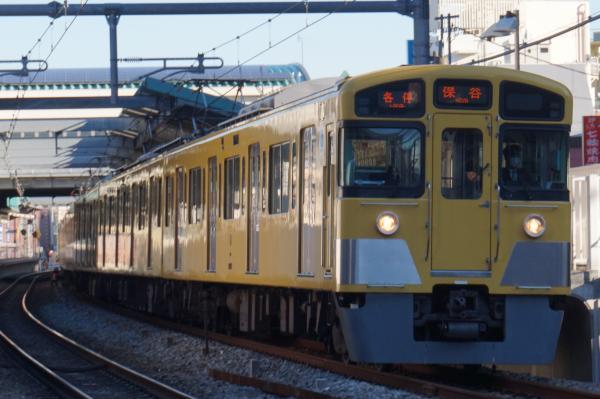 2015-12-30 西武2097F 各停保谷行き 5721レ
