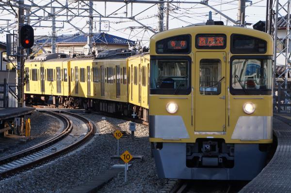 2015-12-31 西武2097F 各停西所沢行き 6154レ