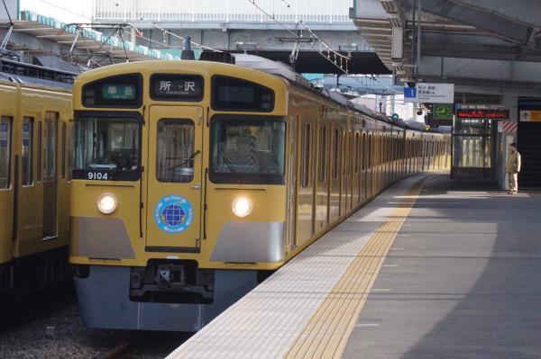 2015-12-31 西武9104F 準急所沢行き 4303レ
