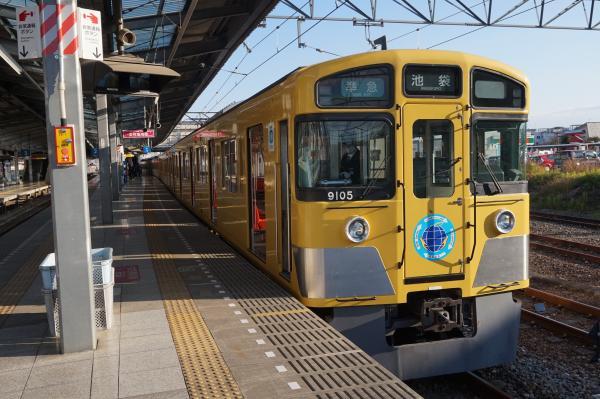 2015-12-31 西武9105F 準急池袋行き 4134レ