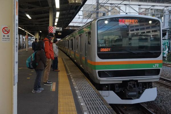 2016-01-08 E231系コツS-11編成 湘南新宿ライン快速籠原行き