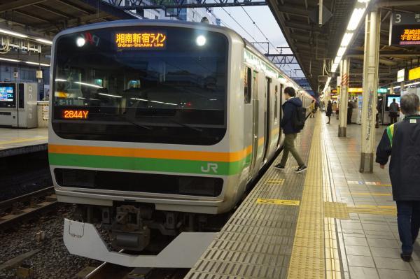 2016-01-08 E231系コツS-11編成 湘南新宿ライン籠原行き