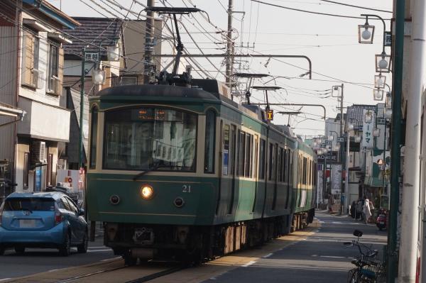2016-01-08 江ノ電21F 藤沢行き