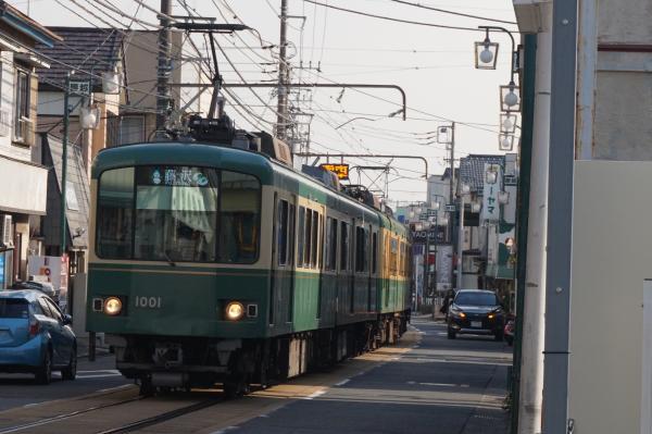 2016-01-08 江ノ電1001F 藤沢行き1