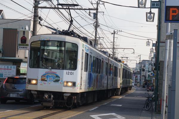 2016-01-08 江ノ電1201F 藤沢行き