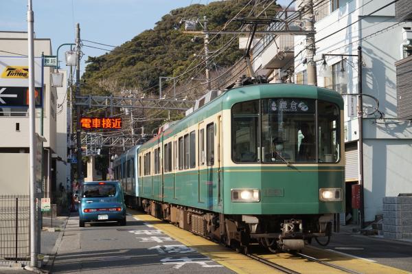 2016-01-08 江ノ電1501F 鎌倉行き