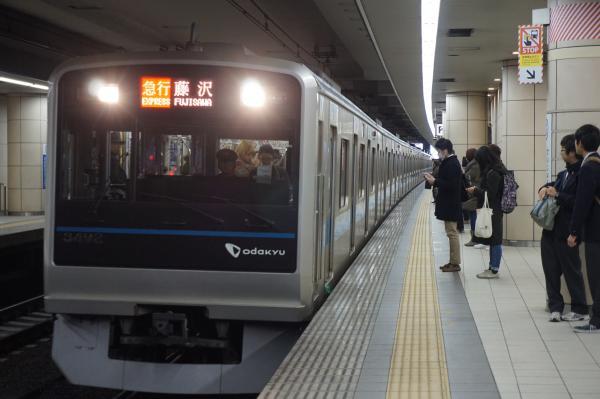 2016-01-08 小田急3092F 急行藤沢行き
