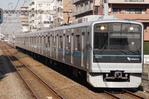 2016-01-08 小田急3271F 各停片瀬江ノ島行き