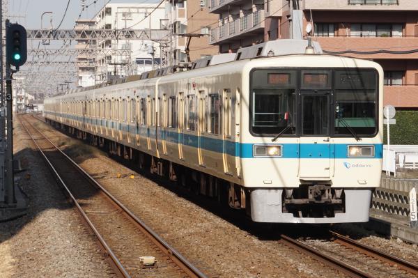 2016-01-08 小田急8060F+8260F 快速急行藤沢行き