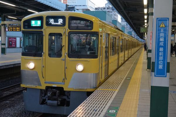 2016-01-09 西武2073F 準急池袋行き 4352レ