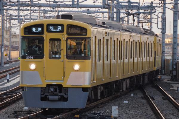 2016-01-09 西武2075F 各停池袋行き1 5362レ
