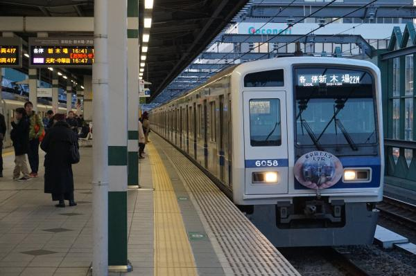 2016-01-09 西武6158F 各停新木場行き 6380レ