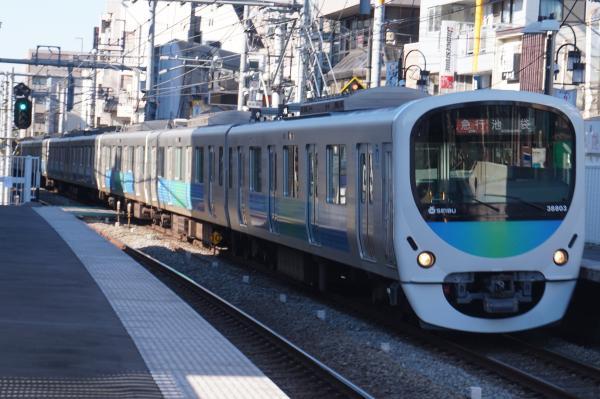 2016-01-09 西武32101F+38103F 急行池袋行き 2130レ