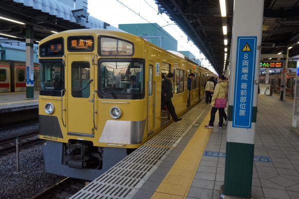 2016-01-10 西武2097F 各停豊島園行き2 5489レ