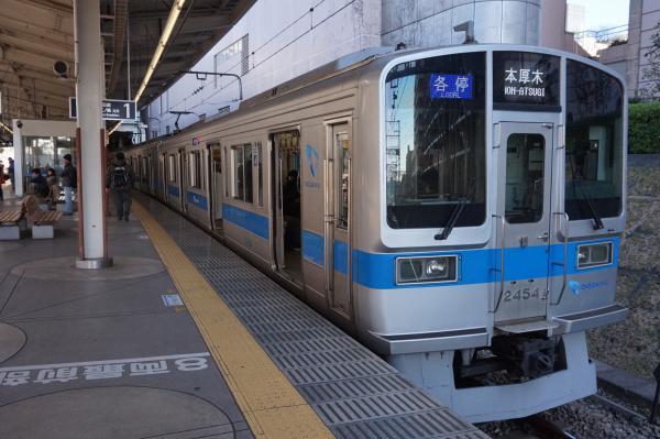2016-01-16 小田急2054F 各停本厚木行き