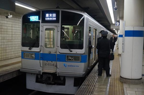 2016-01-16 小田急2054F 区間準急唐木田行き