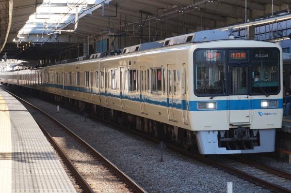 2016-01-16 小田急8058F+8258F 急行小田原行き