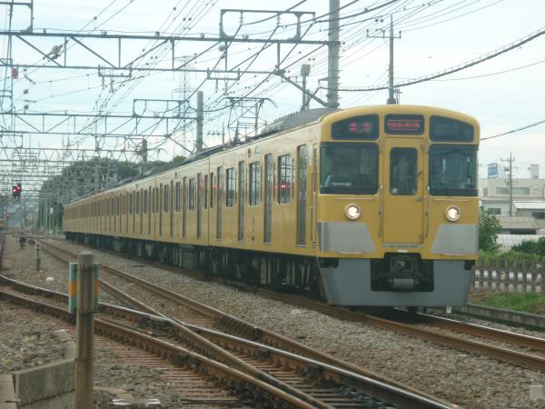 2014-08-23 西武2057F 急行西武新宿行き 2668レ