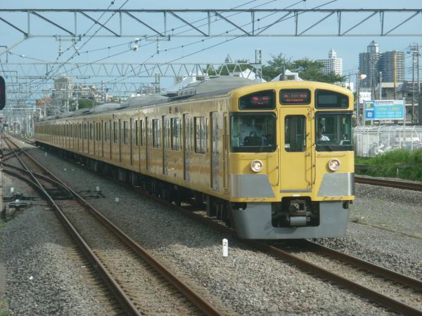 2014-08-23 西武2061F 急行本川越行き 2665レ
