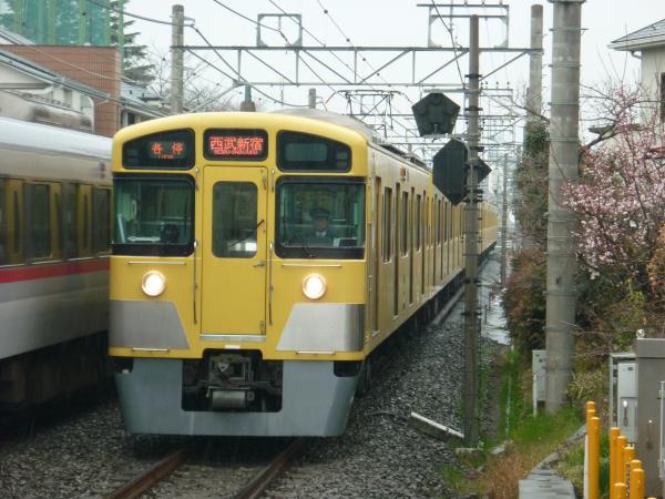 2015-03-01 西武2057F 各停西武新宿行き 5608レ
