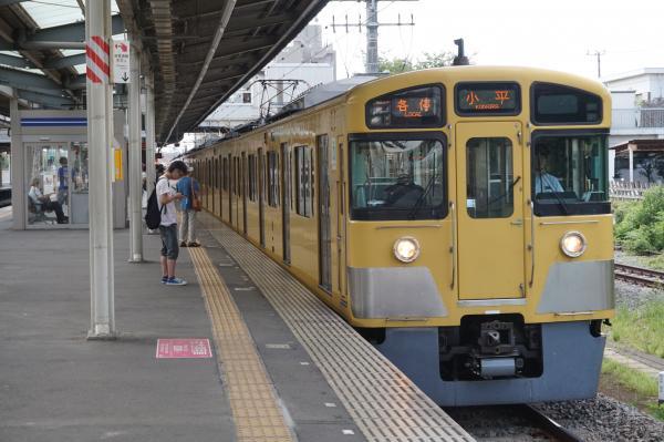 2015-08-22 西武2061F 各停小平行き 5406レ