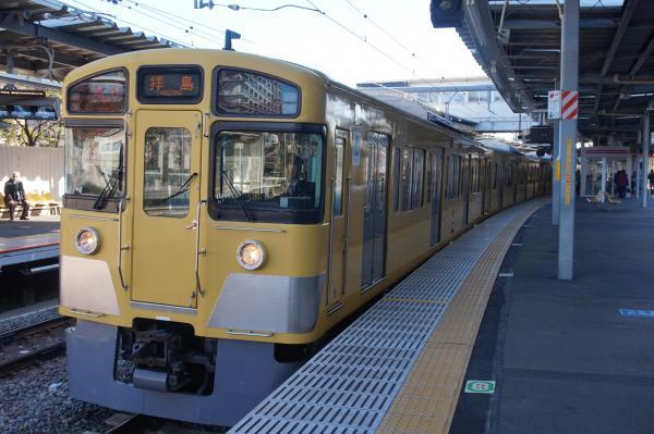 2015-12-20 西武2061F 急行拝島行き2 2319レ