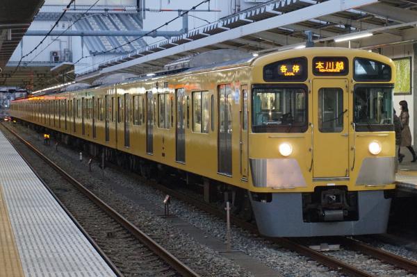 2015-12-22 西武2057F 各停本川越行き 5645レ