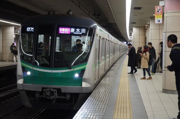 2016-01-21 メトロ16111F 多摩急行唐木田行き