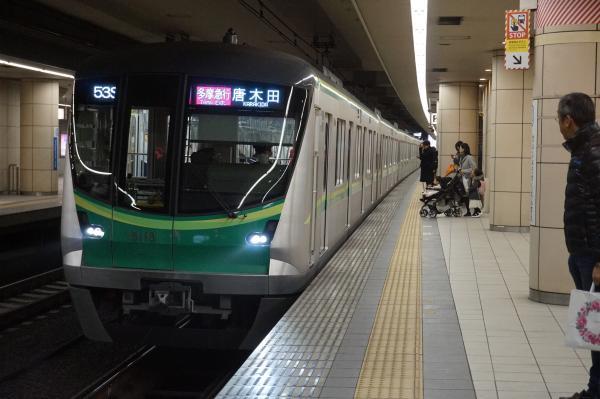 2016-01-23 メトロ16118F 多摩急行唐木田行き