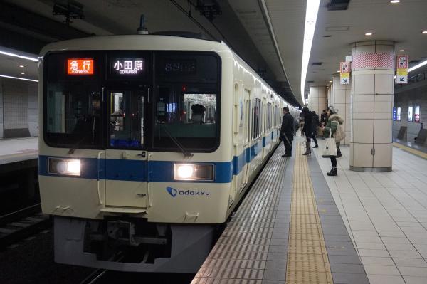 2016-01-23 小田急8065F+8265F 急行小田原行き