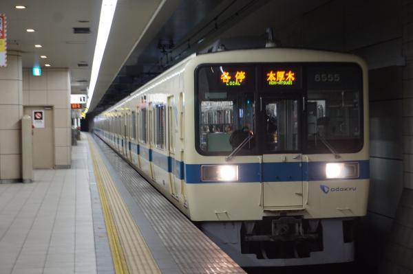 2016-01-23 小田急8255F 各停本厚木行き