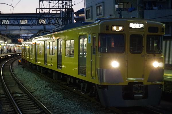 2016-02-04 西武2007F 各停西武新宿行き 5834レ