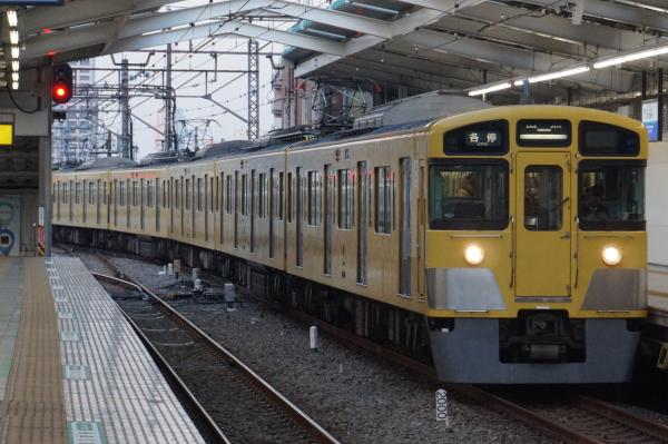 2016-02-04 西武2057F 各停 -- 5156レ