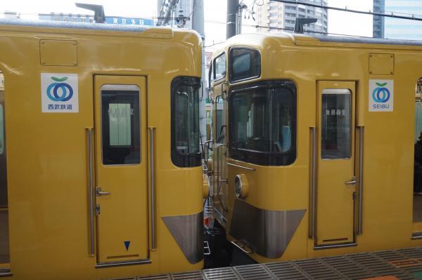 2016-02-04 西武2523F+2051F 車両連結部