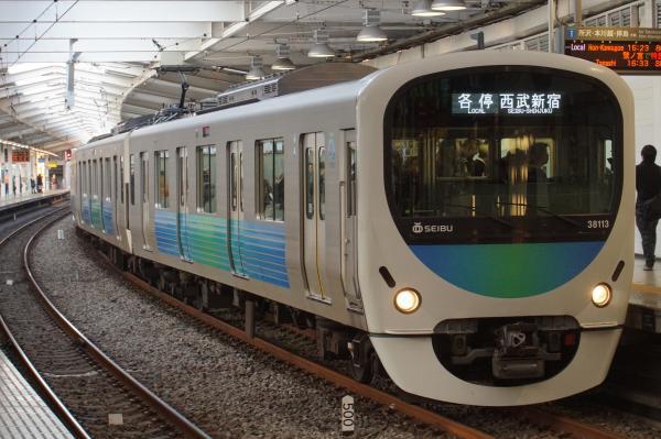 2016-02-04 西武38113F 各停西武新宿行き 5152レ