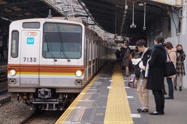 2016-02-06 メトロ7130F 各停元町・中華街行き1