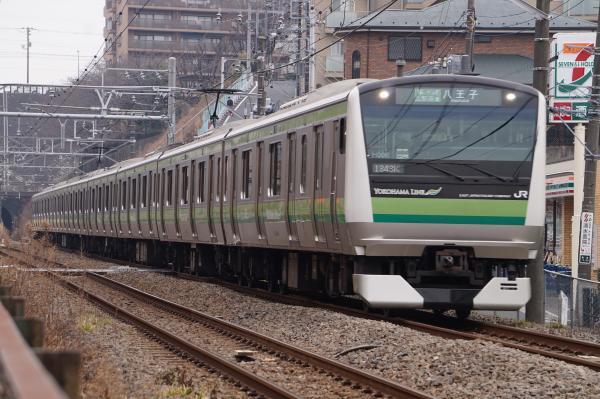 2016-02-06 横浜線E233系クラH006編成 各駅停車八王子行き