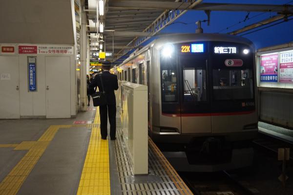 2016-02-06 東急4106F 各停新宿三丁目行き2