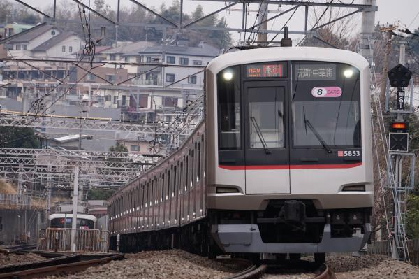 2016-02-06 東急5153F 急行元町・中華街行き