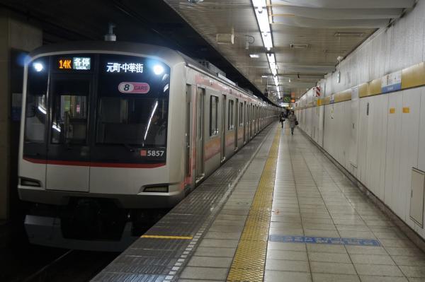 2016-02-06 東急5157F 各停元町・中華街行き1