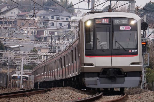 2016-02-06 東急5173F 急行元町・中華街行き