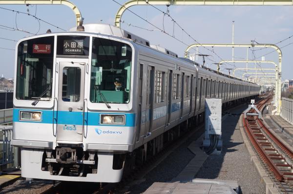 2016-02-09 小田急1253F+1053F 急行小田原行き