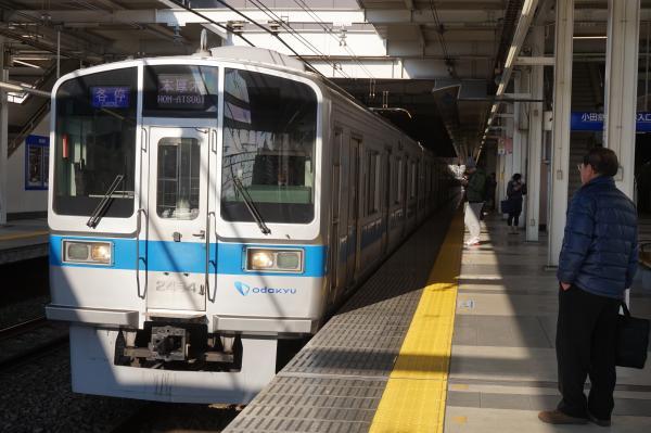 2016-02-09 小田急2054F 各停本厚木行き