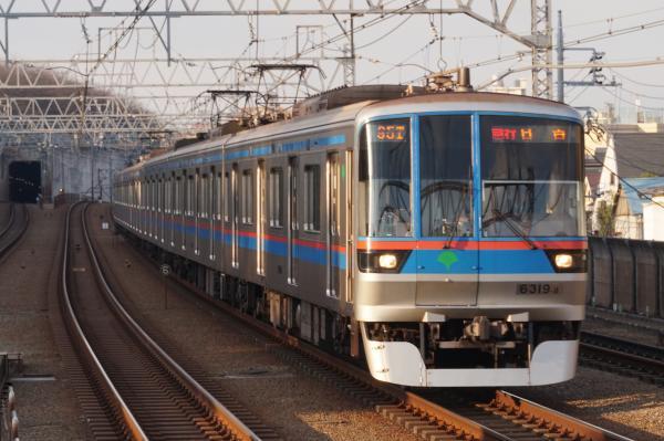 2016-02-09 都営6319F 急行日吉行き