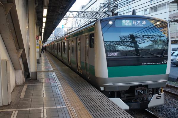 2016-02-10 埼京線E233系ハエ112編成 各駅停車新木場行き