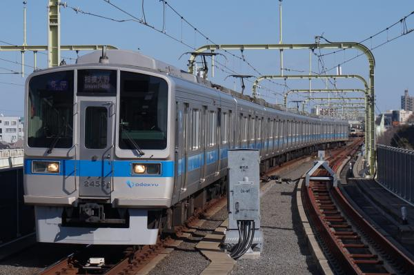 2016-02-10 小田急2055F 各停相模大野行き